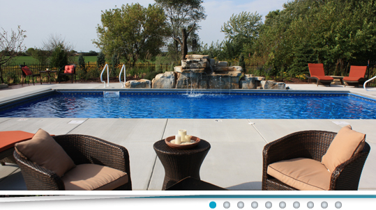 Kd poolscapes pool builder racine milwaukee inground for Pool design questions
